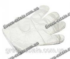 Перчатки одноразовые на бумажном креплении
