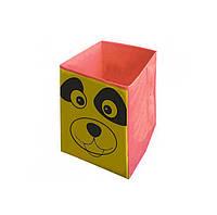 Ящик для хранения игрушек Собачка, 30*30*45 см