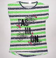 """Футболка для девочек  """" Fashion"""" 6,7,8,9,10 лет"""