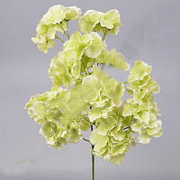 Гортензия кустовая салатовая 60 см Цветы искусственные