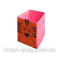 Ящик для хранения игрушек Тигренок, 30*30*45 см