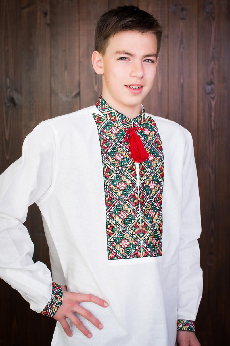 Легкая подростковая вышиванка  на мальчика