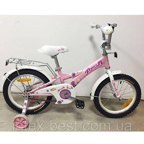 """Детский двухколесный велосипед Profi Original girl 18"""" G1861 (Розовый)"""