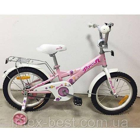"""Детский двухколесный велосипед Profi Original girl 18"""" G1861 (Розовый), фото 2"""