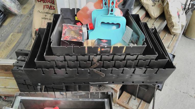 Мангал чемодан на 8 шампуров., фото 2