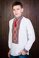 Молодежная подростковая вышиванка с длинным рукавом