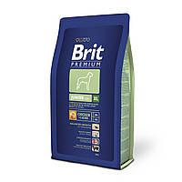 Brit Premium Junior Extra Large корм для щенков гигантских пород, 3 кг