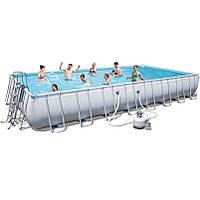 Каркасный бассейн Bestway 56617 (956x488x132 см.)