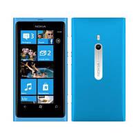 Чехол накладка Nokia Lumia 800 пластиковая прозрачная