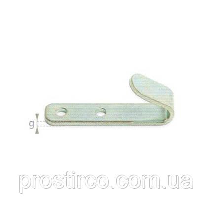 Крючок тентовый плоский 21.13 (металический), фото 2