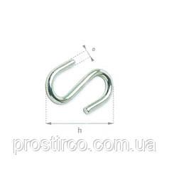 Крючок S-образный 24.40 (оцинкованный)