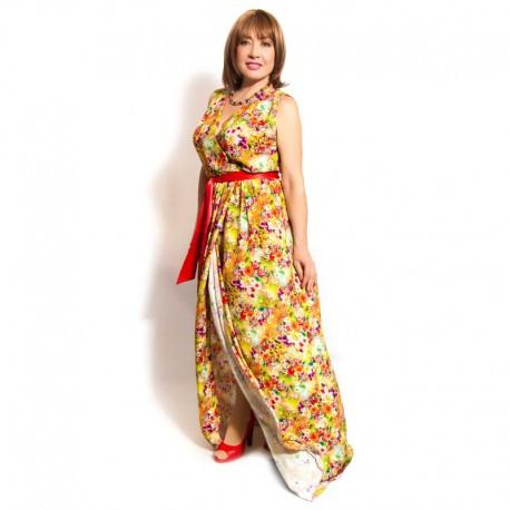 8cb4c2455eb Женский летний сарафан большого размера - Интернет-магазин женской одежды больших  размеров