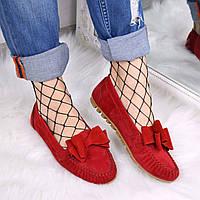 Туфли балетки женские Ilana красные , балетки женские