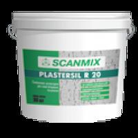 "Scanmix Plastersil R - силиконовая штукатурка ""Короед"" - зерно 2,5мм, 25кг"