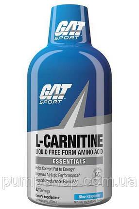 Л-карнитин GAT L-Carnitine Liquid 473 мл, фото 2