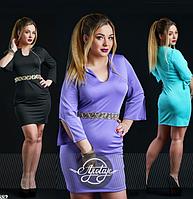 Платье мини 48-54р