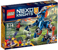 Конструктор Лего Lego Nexo Knights Ланс и его механический конь 70312