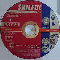 Круг отрезной по металлу SkilFul 125х1,6х22