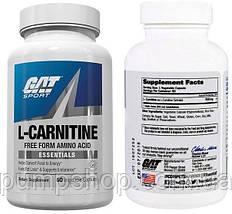 Л-карнитин GAT L-Carnitine 60 капсул ( США ) (срок по 10.18), фото 3