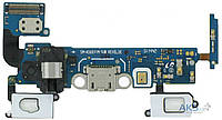 Шлейф для Samsung A500H Galaxy A5 / A500F Galaxy A5 Duos / A500FU Galaxy A5 с разъемом зарядки и гарнитуры rev 0.3