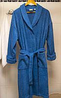 Халат махровый Deco Bianca - 52007 V5 lacivert синий S/M