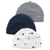 Комплект шапочек Carter's для мальчиков (CША)
