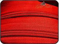 Молния рулонная Т3 красная 400м