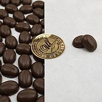 """Кондитерский декор """"Кофейные зерна"""" из черного классического сырья, фото 1"""