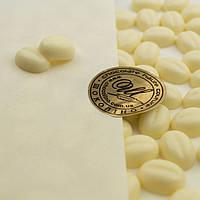 """Кондитерский декор """"Кофейные зерна"""" из белого классического сырья, фото 1"""