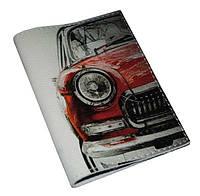 Обложка на паспорт -Красная машинка-