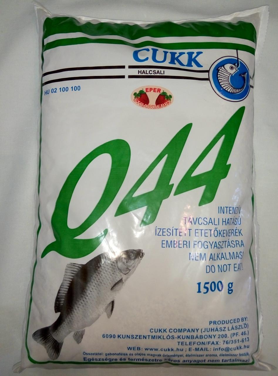 Прикормка cukk Q-44 Полуниця Угорщина 1,5 кг