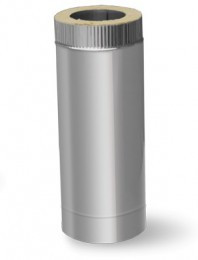 Труба 0,25м нерж\оц — s-0,5мм — Ø-120/180 мм