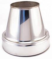 Конус термо нерж\оц — s-0,5мм — Ø-100/160 мм