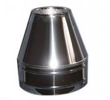 Конус термо нерж\нерж — s-0,5мм — Ø-100/160 мм