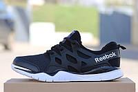 Мужские кроссовки Reebok, летние (черные)