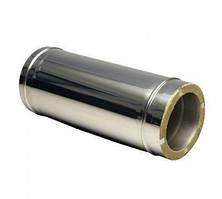 Труба 0,5м нерж\нерж — s-0,5мм — Ø-100/160 мм