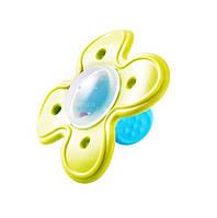 Эластичный прорезыватель «Цветочек» с погремушкой BabyOno 1010