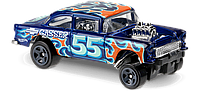 "Машинка ""Хот Вилс"" '55 Chevy bel air Gasser, 1:64"
