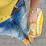 Час женские наручные Мороженое желтые, фото 3
