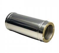 Труба 0,5м нерж\нерж — s-1мм — Ø-120/220 мм