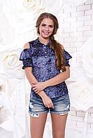 Красивая блуза из штапеля Мираж 12 Arizzo 44-50 размеры
