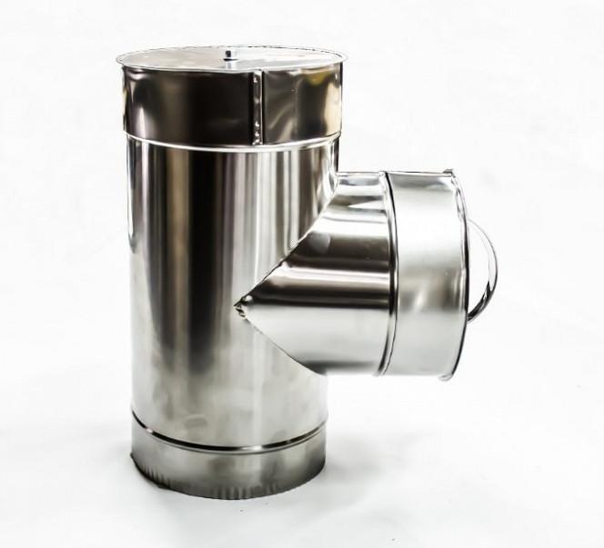 Ревизия нерж\оц  — s-1мм — Ø-120/220 мм