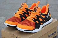 Кроссовки мужские Reebok, летние, оранжевые