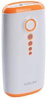 Батарея универсальная ARUN Y202 5600mAh оранжевая