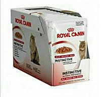 Royal Canin Instinctive 12 (кусочки в желе) консервированный корм для кошек старше 1 года