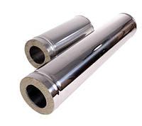 Труба 0,5м нерж\оц — s-0,5мм — Ø-350/420 мм