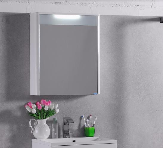 Зеркало Fancy Marble MC-Santorini 600 (Белый)