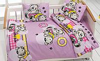 Комплект белья для кроватки Class (Bahar teksil) Ayicik v2