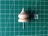Сликер, насадка для гравера, инструмент для полировки торца кожи, 1 узкий, артикул СК 6033