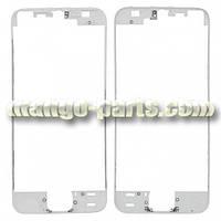 Рамка для дисплея iPhone 5S белая